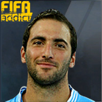 Gonzalo Higuain - 17  Rank 1on1