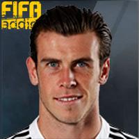 Gareth Bale - 16  Rank 1on1