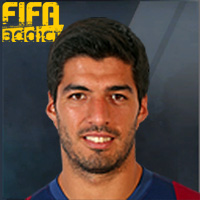Luis Suarez - 17  Rank 1on1