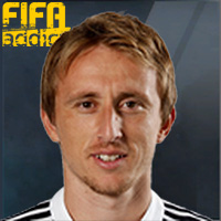 Luka Modric - 16  Rank 1on1