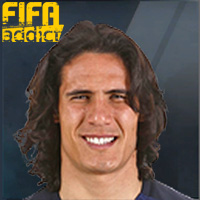 Edinson Cavani - 17  Rank 1on1
