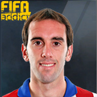 Diego Godin - 16  Rank 1on1