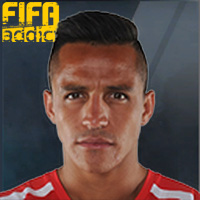 Alexis Sanchez - 16  Rank 1on1