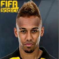 Pierre-Emerick Aubameyang - 16  Rank 1on1