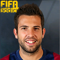 Jordi Alba - 16EC  Rank 1on1