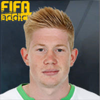 Kevin De Bruyne - 16EC  Rank 1on1