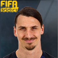Zlatan Ibrahimovic - 17  Rank 1on1