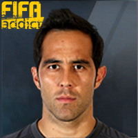Claudio Bravo - 14T  Rank 1on1
