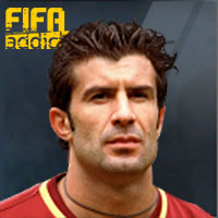 Luis Figo - 06U  Rank 1on1